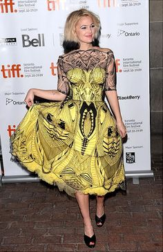 Mcqueen- LOVED the dress, ick to the hair though.