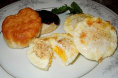 Melissa's Southern Style Kitchen: Baked French Eggs... Making these for a weeks worth of breakfast FOR SURE!