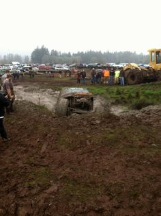 Sweet Home Oregon Mudfest, this was something we looked forward to every year!