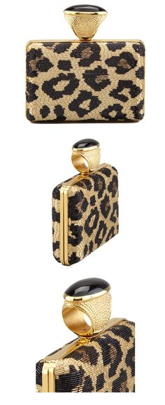 MAXIMUM IMPACT: Making an impact is all about the details, big & small... like this Tom Ford clutch.