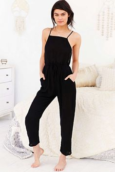 Out From Under Open-Back Jumpsuit - Urban Outfitters