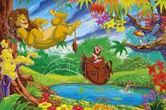 Disney Lion King Wallpaper for Kids Bedroom Ideas