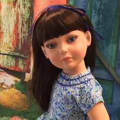 """An exquisite new model from Robert Tonner """"My Imagination Deluxe Doll™"""", modeling a 1950's Reproduction Custom Couture Sundress by gofancynancy on Etsy."""