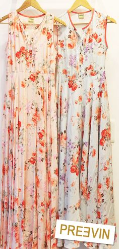 Get your hands on one of these floral printed pintuck maxis by Preevin!   Check out our collection of stunning Maxis, Kurtas, Crop Tops and Separates at our flagship store at 420 Shahpur Jat or call/whatsapp on 9811707878   #Preevin #Fashion #Delhi