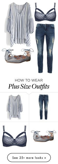 """Plus size gems"" by dannie-trudeau on Polyvore featuring Chicwish, JunaRose, Summit by White Mountain and Ashley Graham"