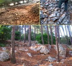 The Jethro Cairn was thought to be just a stone wall until researchers dug a little deeper.