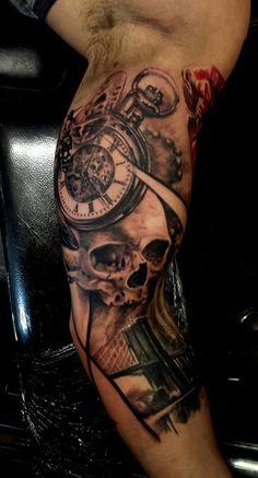 Pocket watch, add date/compass