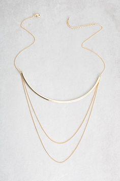 Lovoda - Cirrus Layered Necklace, $20.00 (http://www.lovoda.com/cirrus-layered-necklace/)