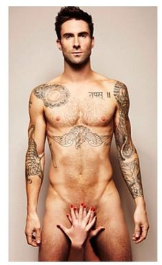 Adam Levine - i feel he is usually naked def not complaining just saying lol