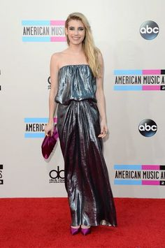 The Best, Worst, and Most Outrageous Looks From the AMA Awards Red Carpet - Emma Roberts