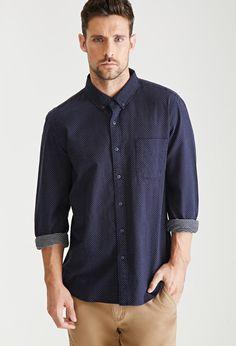 Pin Dot Oxford Shirt | 21 MEN - 2052288269