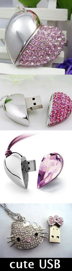 Move your files with style: Pretty and Cheap USB Flash Drives - www.MyWonderList.com