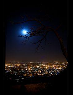 Daman-eKoh at night by Emran Ashraf, via Flickr