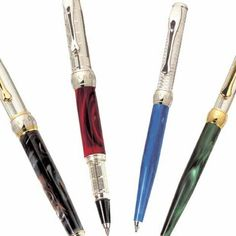 Elegant Italian resin pens by Grifos, Italy.
