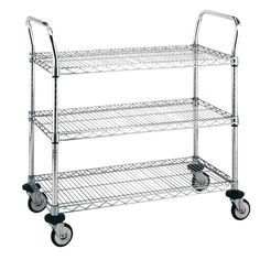 kitchen utility cart with drawers | L.I.H. Utility Cart ...