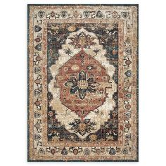 Magnolia Home By Joanna Gaines Evie 11'6 X 15' Area Rug In Ivory/spice