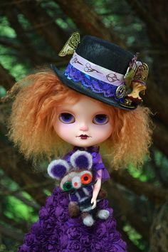 Hearty Blythe Birdie Blue 2003 Sbl **mint** Complete We Take Customers As Our Gods