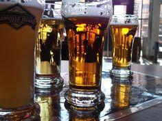 Beer sampler at Granville Island Brewing.