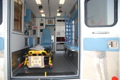 The main advantage of Type I ambulance cars is that even if the initial chassis wears out, the ambulance module can be rebuilt on a new chassis. The unit is built as per the KKK-A-1822F Federal Specifications and the Ambulance Manufacturing Division (AMD) Standards, recognized across the world. Basic Life Support, Type I, Division, The Unit, Cars, Building, Federal, Ambulance, Autos