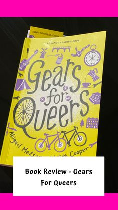 What a perfect combination - cycling and travelling 🚴🏼♀️ 🗺 . Yesterday was publication day for the new book Gears for Queers and in advance of this I was lucky enough to receive a copy.  I've done a review of the book - enjoy! Holiday Entitlement, Gender Neutral Pronouns, Advance Reading, Tour Around The World, Perfect Strangers, Success And Failure, Book Review, Book Quotes, The Book