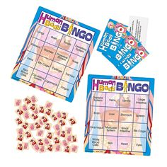 """Human Body"" Bingo Game - OrientalTrading.com"