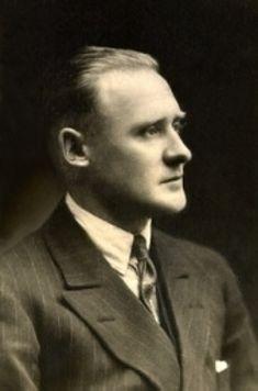 Reginald Mitchell the designer of the Spitfire