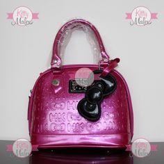 Bolsa CHICA De Mano Loungefly Color Pink Fiusha Hello Kitty