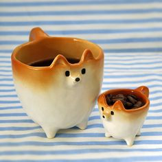 Ceramic Shiba Inus are an Adorable Alternative to Traditional Tableware