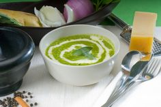 Spinach Soup | Tiny New York Kitchen