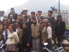 Tweed Run Santiago Chile 2012
