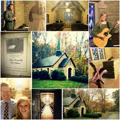 Going to the chapel and we're assisting in the wedding! Ha! Always a pleasure to contribute to a couple's special day! Beautiful little wedding ceremony at the Montgomery Bell State Park Chapel. #montgomerybellstatepark #countrywedding #lovefall