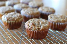 These were enjoyed by everyone at Kristy's son's year birthday party, along with the Chocolate Quinoa Muffins and Savoury Muffins. This has been claimed to be one of the 'best banana breads'. Paleo Banana Muffins, Rhubarb Muffins, Pear Muffins, Pumpkin Cheesecake Cupcakes, Pudding, Pumpkin Bread, How Sweet Eats, Muffin Recipes, Brunch Recipes