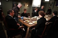 Behind the Scenes of Downton Abbey at Ealing Studios (note the real gravy!)