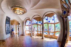 Gaudi. ©Alena Izotova... Antoni Gaudi's design brilliance should inspire any Earthship