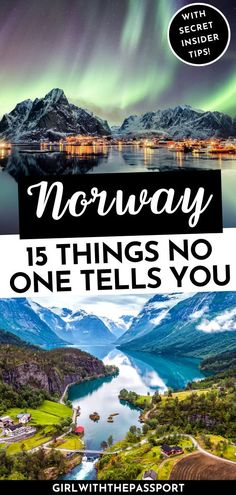 Looking for a Norway Travel Guide with Practical Norway Travel Tips that don't suck? Then check all the insanely common, Norway travel mistakes that you need to avoid. Norway Destinations, Top Travel Destinations, Places To Travel, Places To Go, Nightlife Travel, Norway Travel Guide, Europe Travel Guide, Travel Guides, Norway Vacation