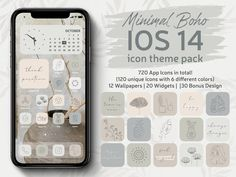 IPhone Icon Pack with Thin Line and Aesthetic Design  #iphoneappicon #ios14appicon #thinline #aesthetic #bohoappicon #boho #minimal #homescreen   Apple Tv, Apple Watch, Facebook Messenger, Google Docs, Evernote, Ios, Google Drive, Iphone Icon Packs, Lightroom