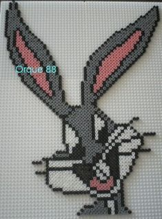 Bugs Bunny hama beads by marmotte88130