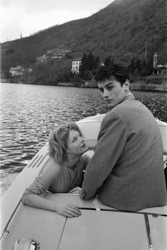 """""""We loved without words, in the beginning. We looked and we had some laughs."""" Alain Delon's letter to Romy Schneider on her death"""