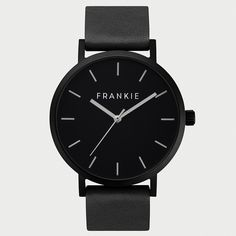 Frankie Watches | All Black