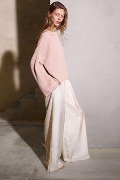 Pink mohair oversized jumper