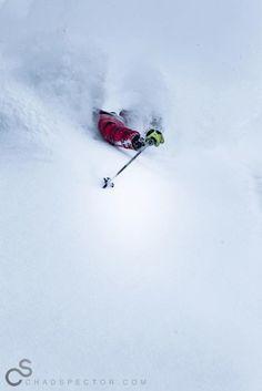 Powder day - ski