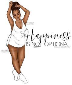 Black Love Art, Black Girl Art, My Black Is Beautiful, Black Girl Magic, Art Girl, Black Girl Quotes, Black Women Quotes, Black Art Painting, Black Artwork