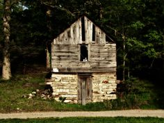 I always wanted a place with a spring.  Bluff Area Daily: Possibly an old Springhouse