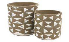 Triangle Vases