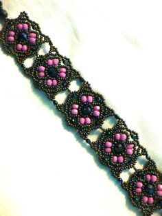 Free pattern for bracelet Beratan | Beads Magic