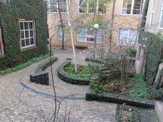 Courtyard Restaurant, Entrance, Patio, Outdoor Decor, Plants, Home Decor, Entryway, Decoration Home, Room Decor