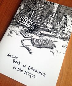 £20 As a follow-up to 'Robots, Spacedudes, Flying Ships etc' this is the second book of drawings from Ian McQue. A4, soft cover,...