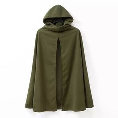 Nice Simple Style Open-Stitch Hooded Sleeveless Women's Cape M-2XL