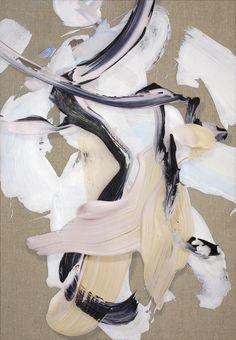 Matthew Stone - Somatic Thought Pattern - Digital print & acrylic on linen - 70 x 100cm - 2014