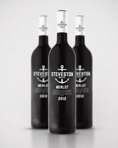 Steveston Wine Branding by Kristian Hay